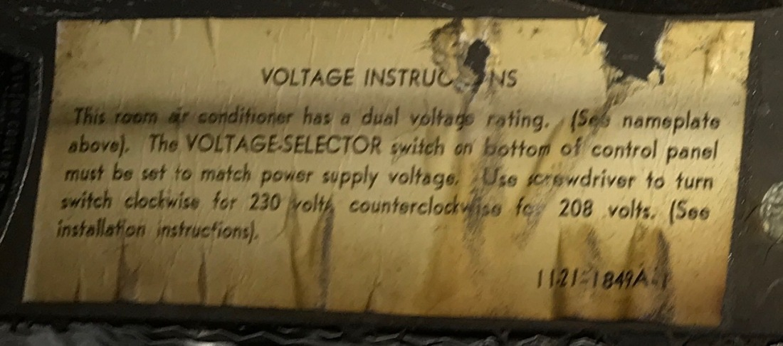 AC Voltage Instructiongs