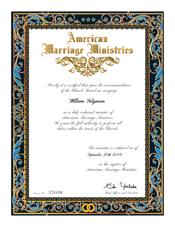 AMM certificates