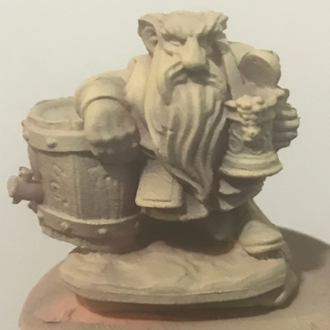 Dwarf with tan zenithal
