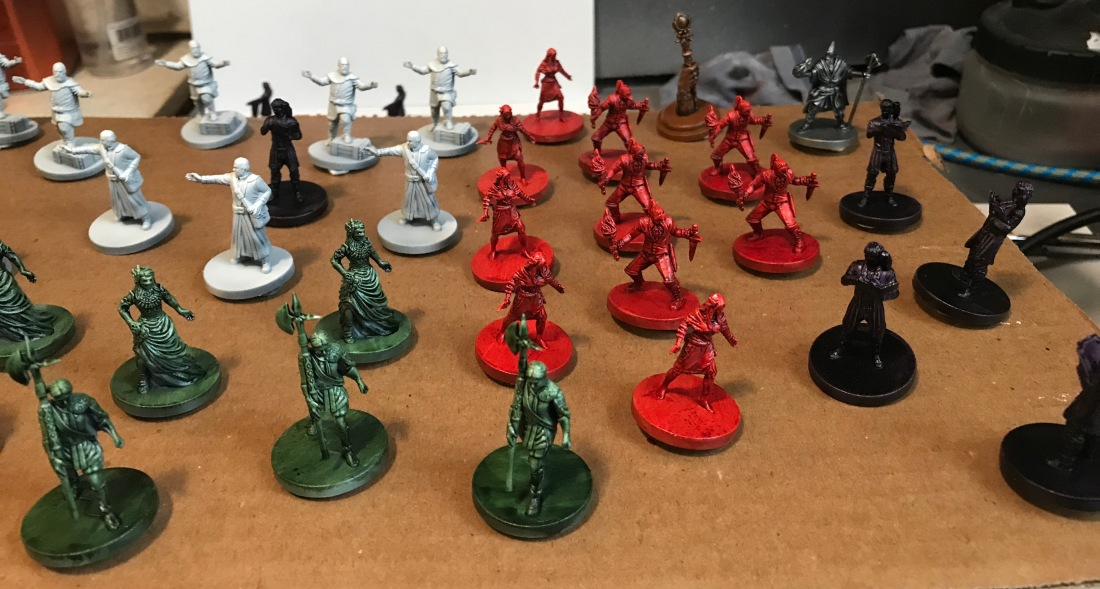 Edge of Darkness - painted minis