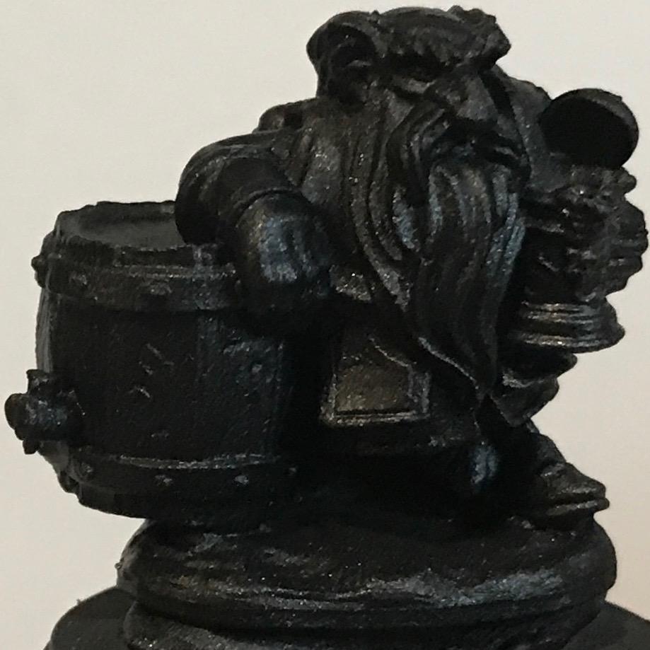 Dwarf - black primer