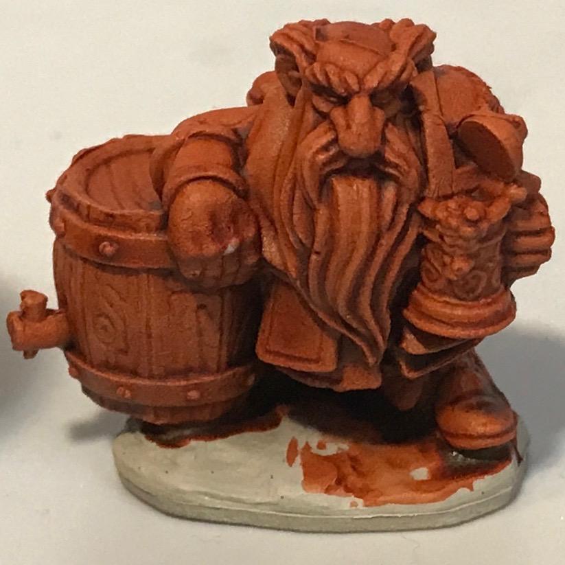 Dwarf - Gryph-Hound Orange