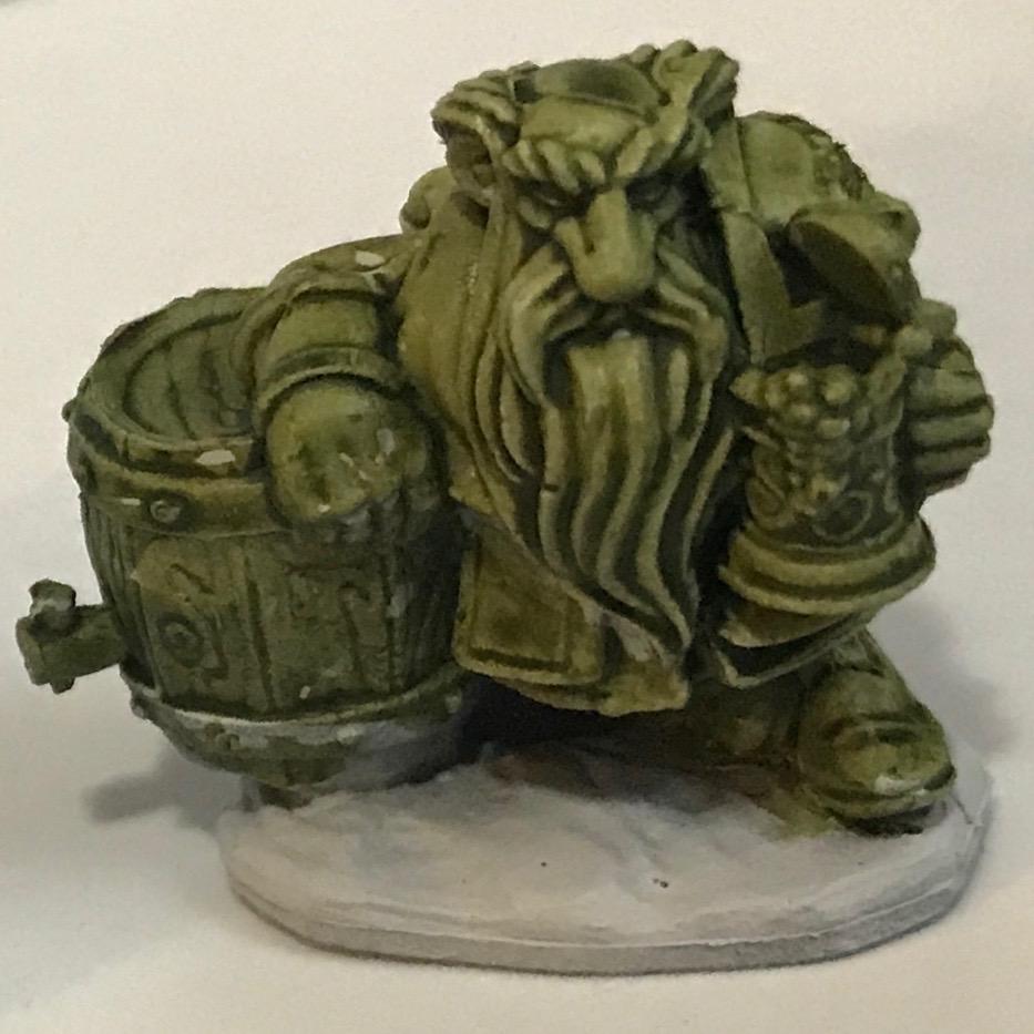 Dwarf - Militarium Green