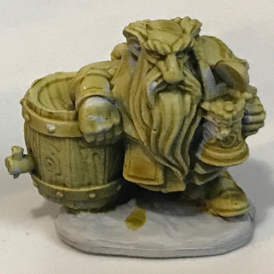 Dwarf - Plaguebearer Flesh