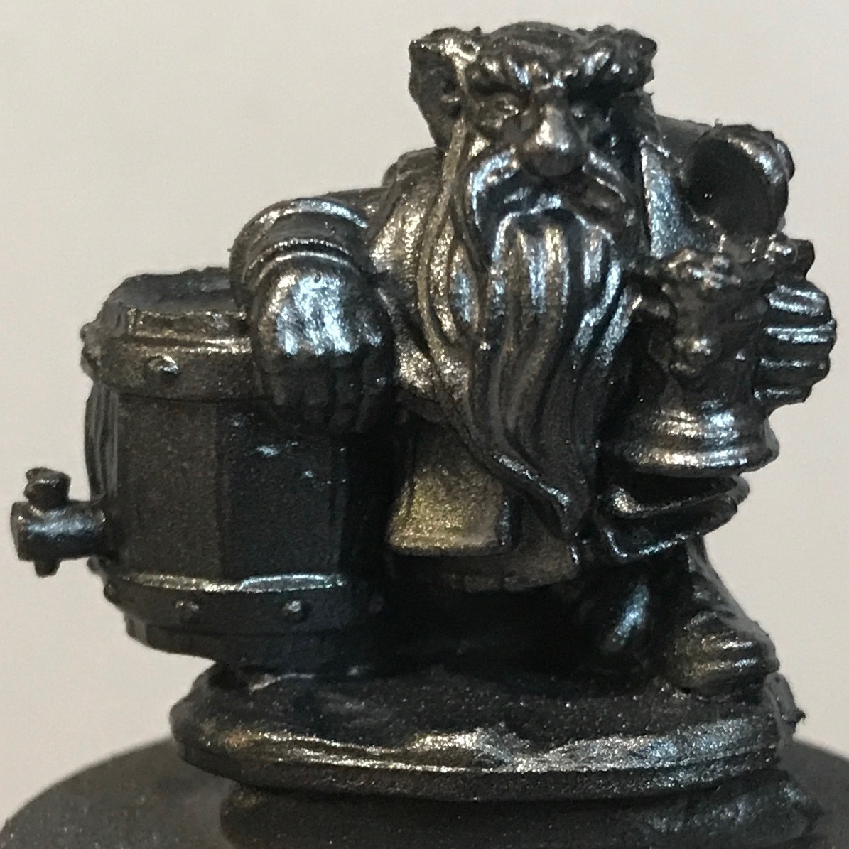 Dwarf - Plate silver at 0 degrees