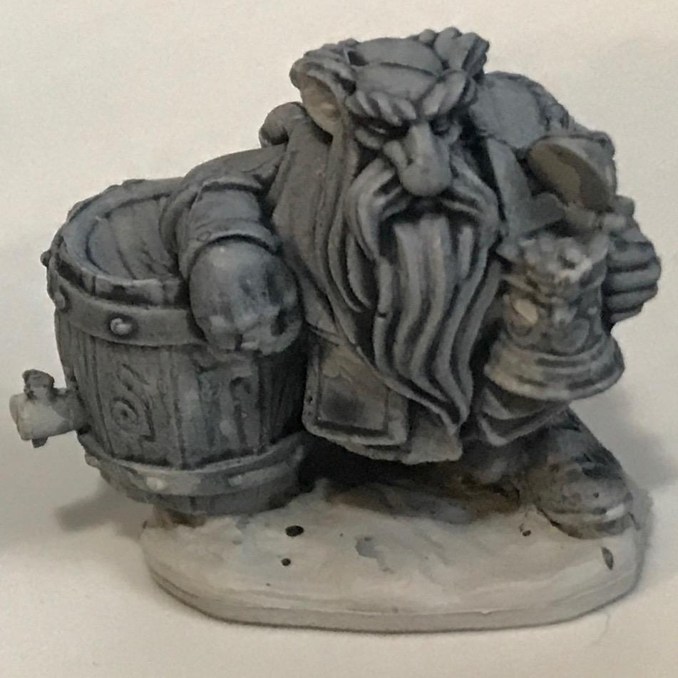 Dwarf - Space Wolves Grey