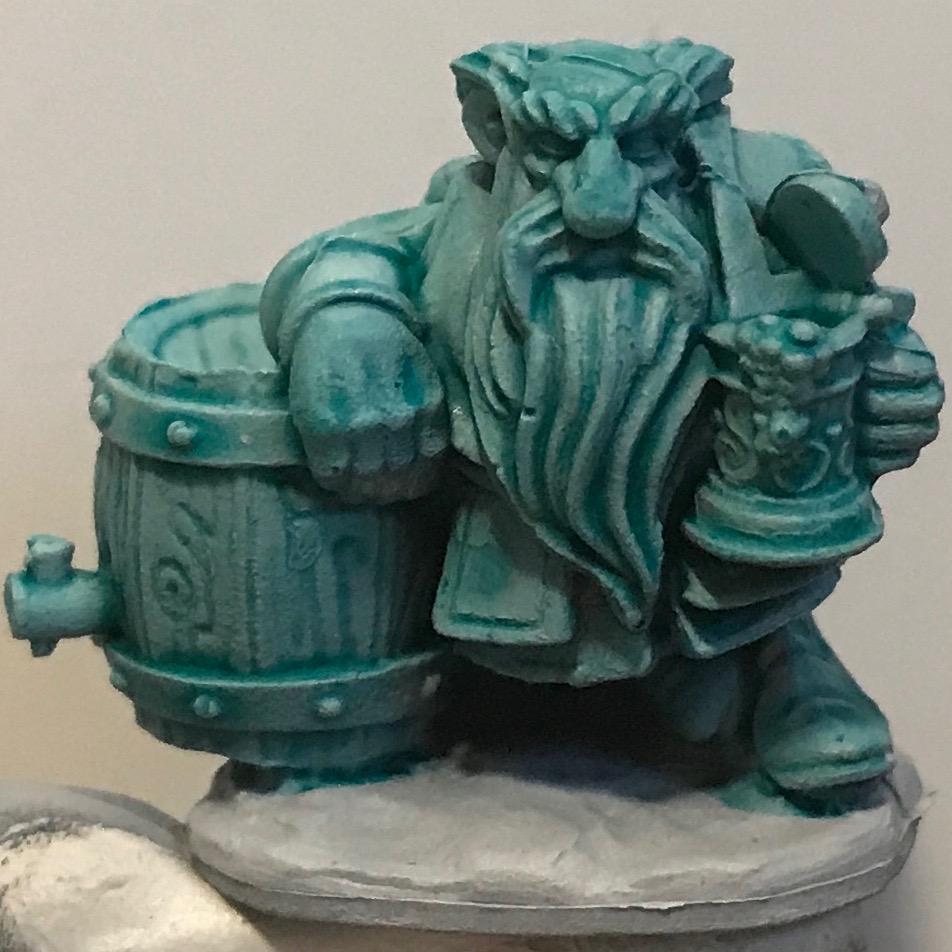Dwarf - Aethermatic Blue