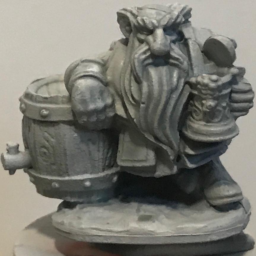 Dwarf - Apothecary White