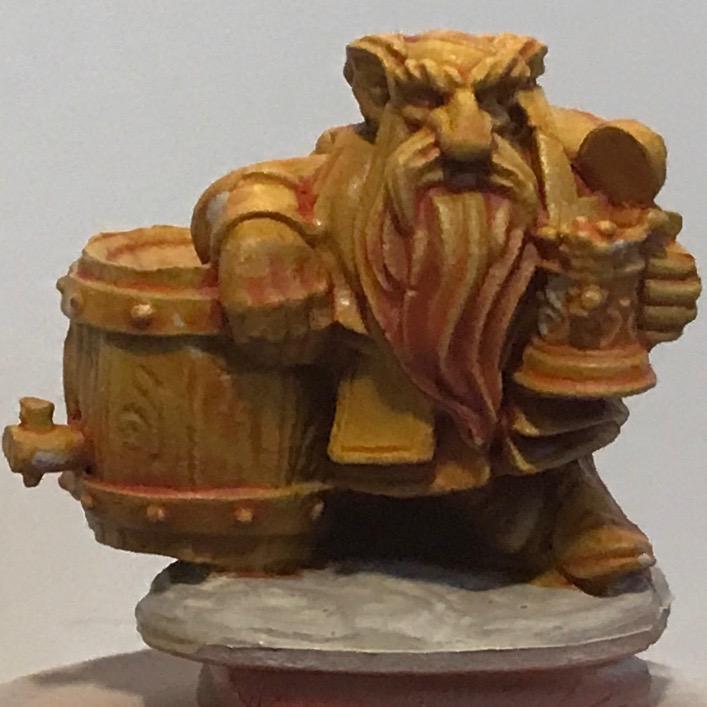 Dwarf - Iyanden Yellow