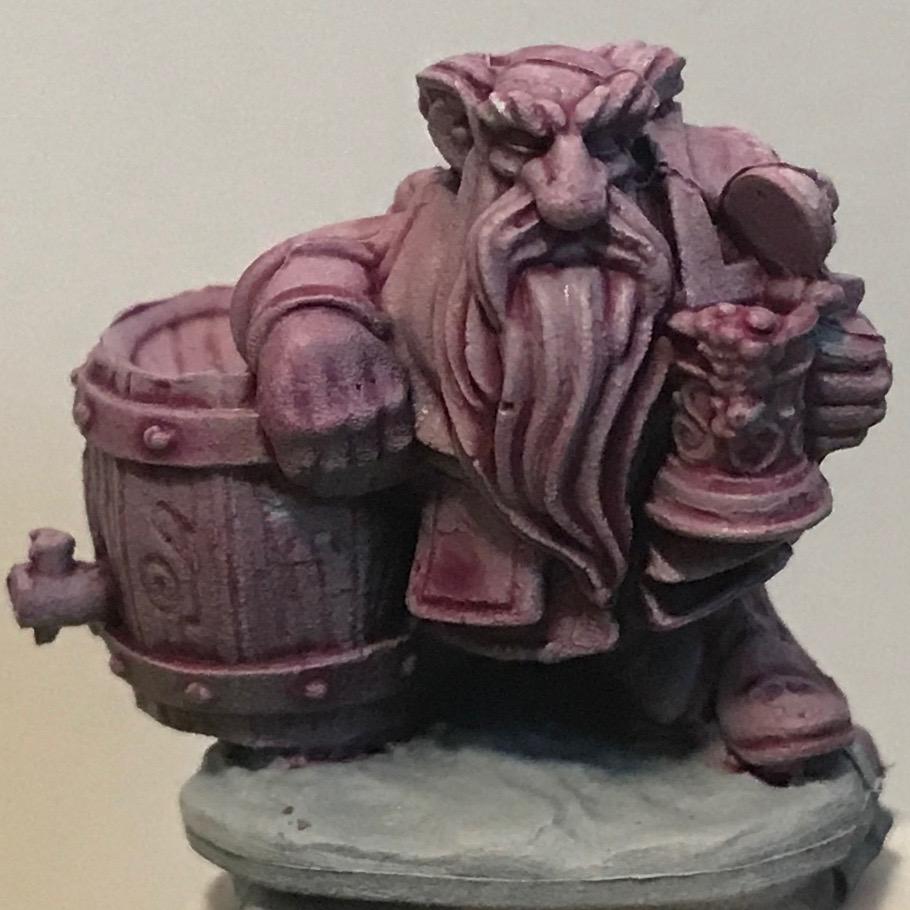 Dwarf - Magos Purple