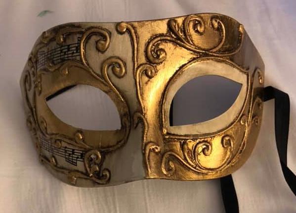 Drew Golden's mask