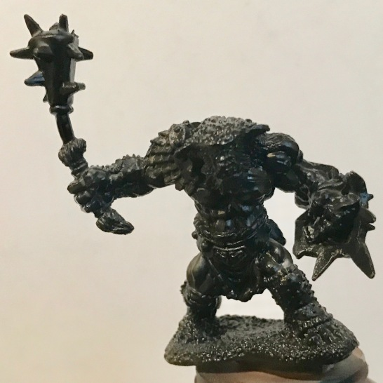 Bugbear Warrior - gloss black - front