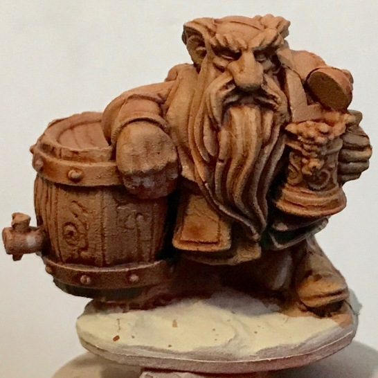 Dwarf -Darkoath Flesh - front