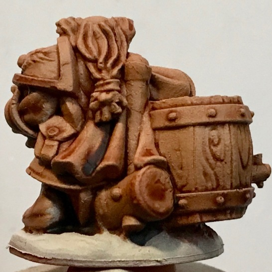 Dwarf -Darkoath Flesh - rear