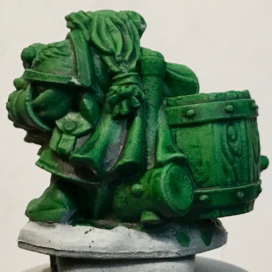 Dwarf - Ork Flesh - rear
